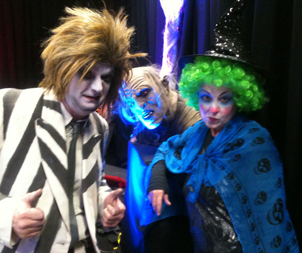 photo of Beetlejuice, Witch and Monster characters