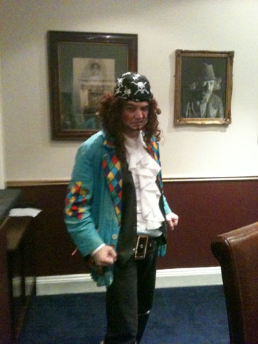 photo of Pirate at the Gaiety Panto